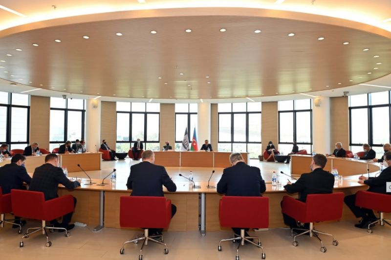 Azerbaijani Foreign Minister meets with heads of EU diplomatic missions