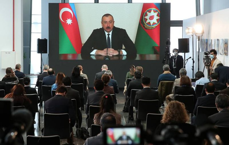 Ilham Aliyev: Karabakh Status Resolved, Iskander Wasn't Used, Armenians of Karabakh Are Our Citizens, We Will Return to Khojaly