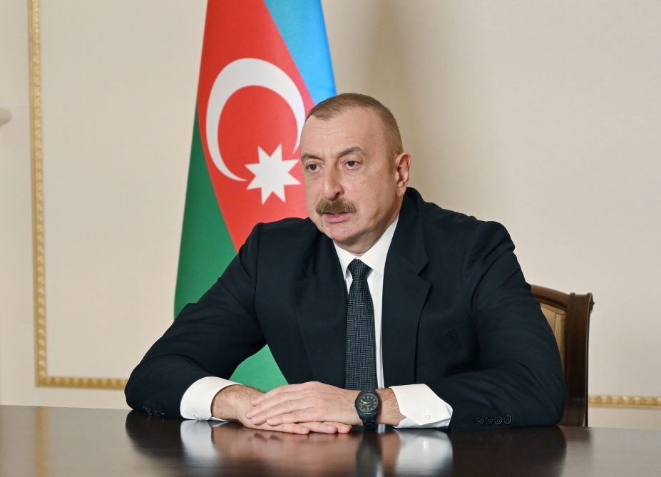 President Aliyev: Gas From Azerbaijan Is New, Reliable, Long-Lasting Source For Europe
