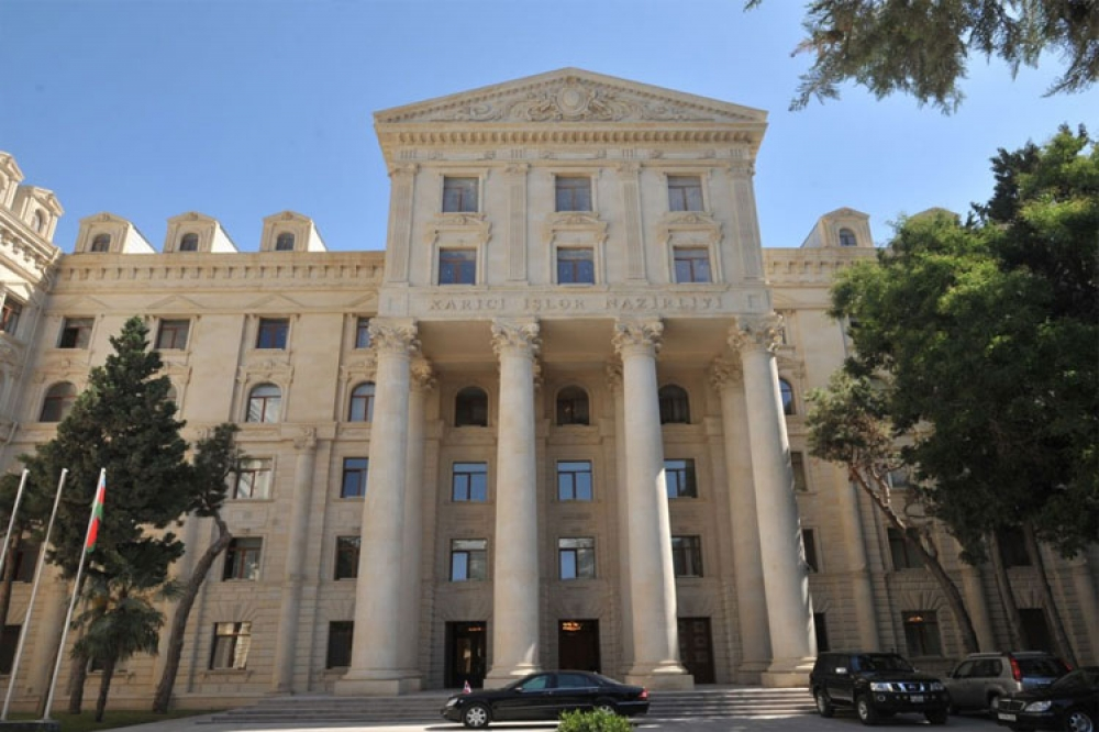 Foreign Ministry: Illegal Deployment of Armenian Troops to the Territory of Azerbaijan Is a Gross Violation of the Joint Statement