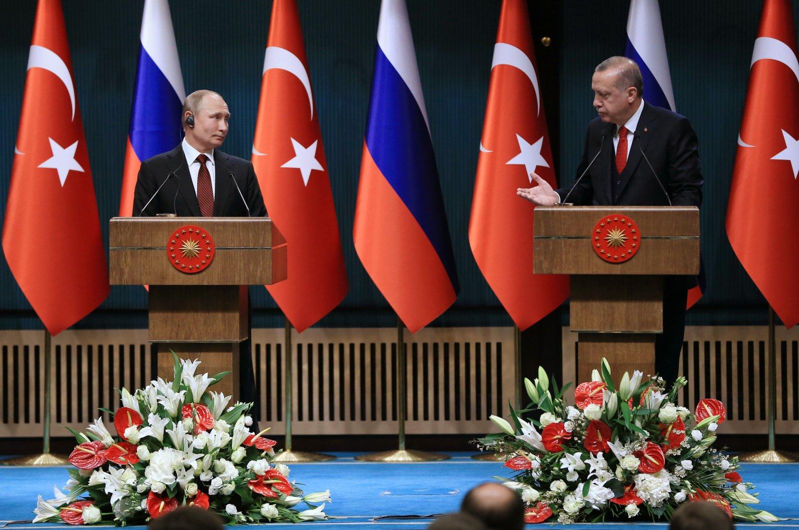 Erdoğan, Putin discuss Nagorno-Karabakh, Syria, Libya in phone call