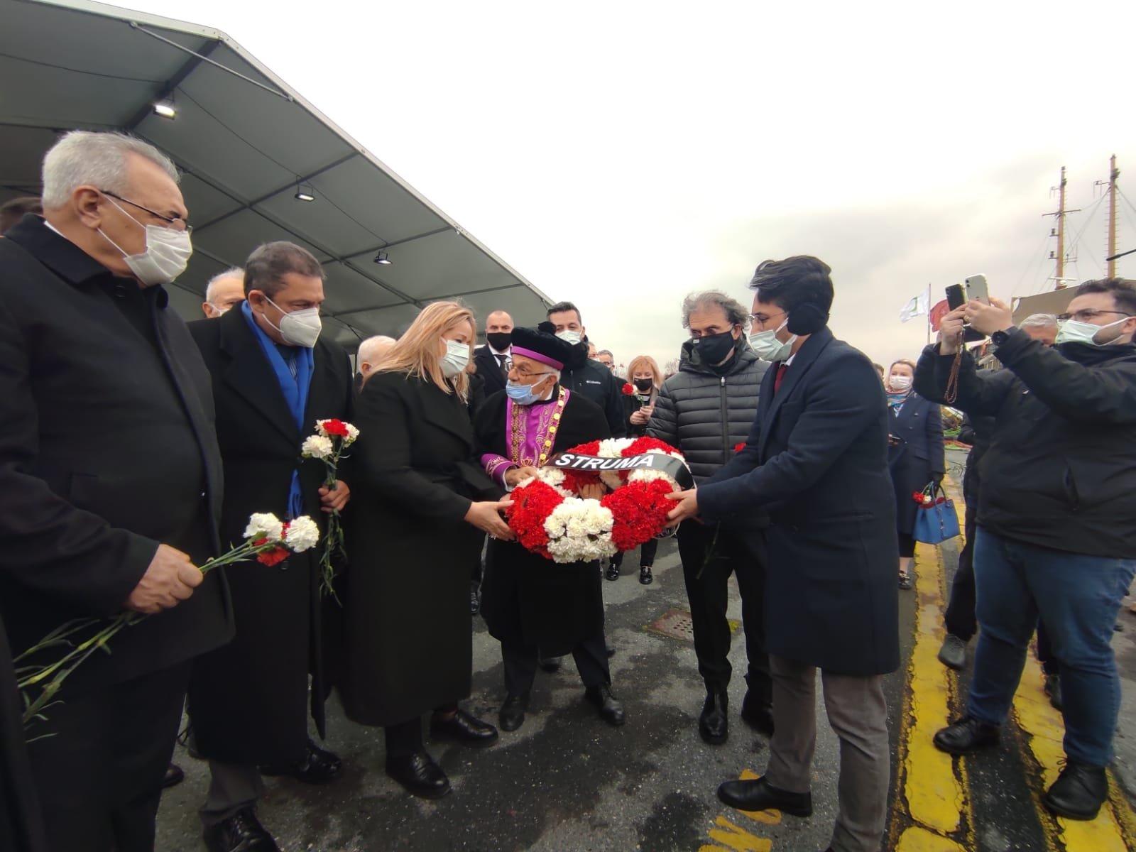 Turkey's Jewish community commemorates WWII's Struma disaster