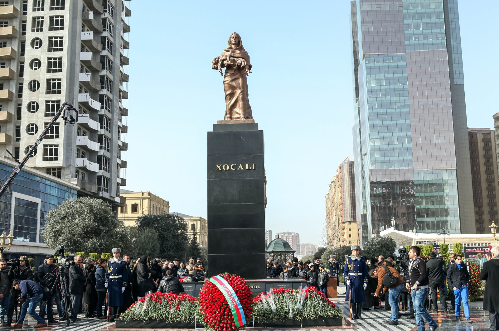 Haunted by horror of Khojaly Massacre, Azerbaijanis demand justice