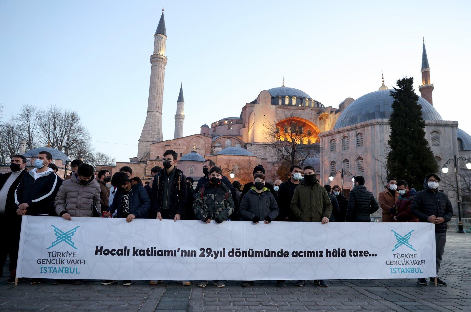 Turkey's TÜGVA commemorates Khojaly victims at Hagia Sophia