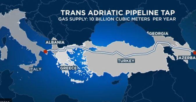 Azerbaijan Exports 1 Bcm of Gas to Europe via TAP