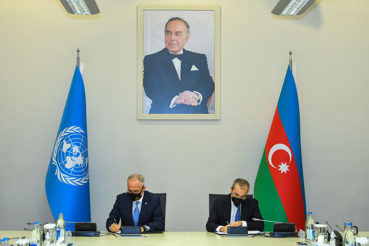 UN, Azerbaijan Sign Framework Document on Cooperation