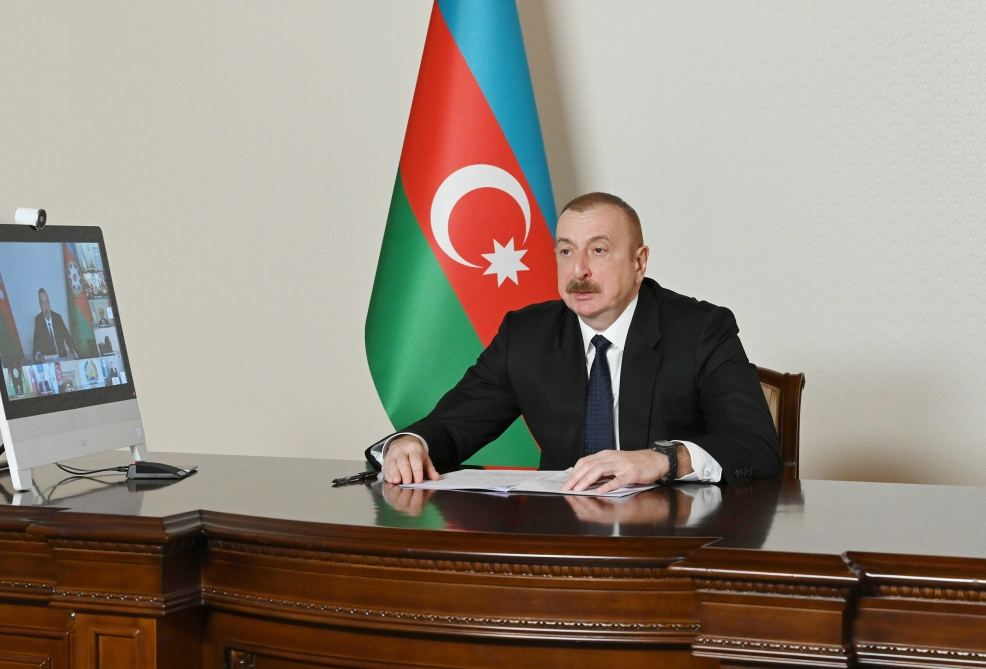 President Aliyev: We Condemn Unequal, Unfair Distribution of Vaccines Among Developing And Developed Countries