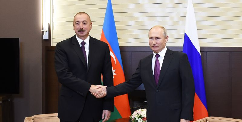 Putin And Aliyev Discussed the Restoration Of Transport Communications In the Region