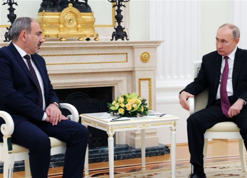 Putin meeting with Pashinyan in Moscow