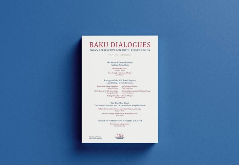 Next volume of ADA University's Baku Dialogues Journal published