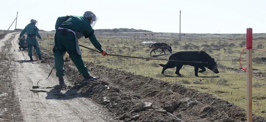 Biden Must Press Armenia to Hand Over Minefield Maps
