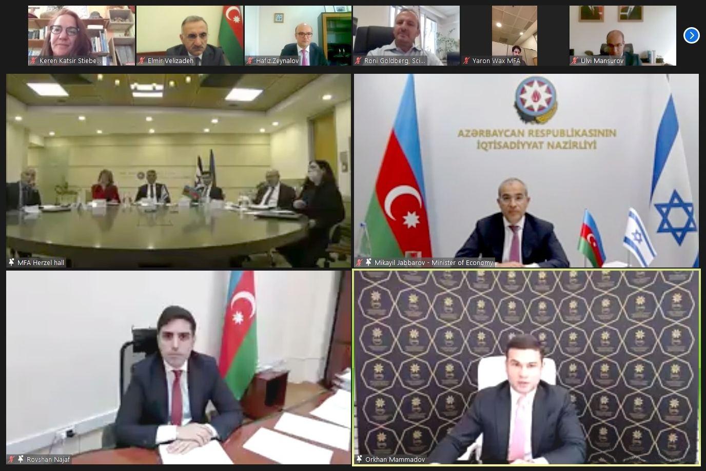 Mikayil Jabbarov: Activity of trade, tourism reps to serve development of Azerbaijan-Israel economic, trade ties