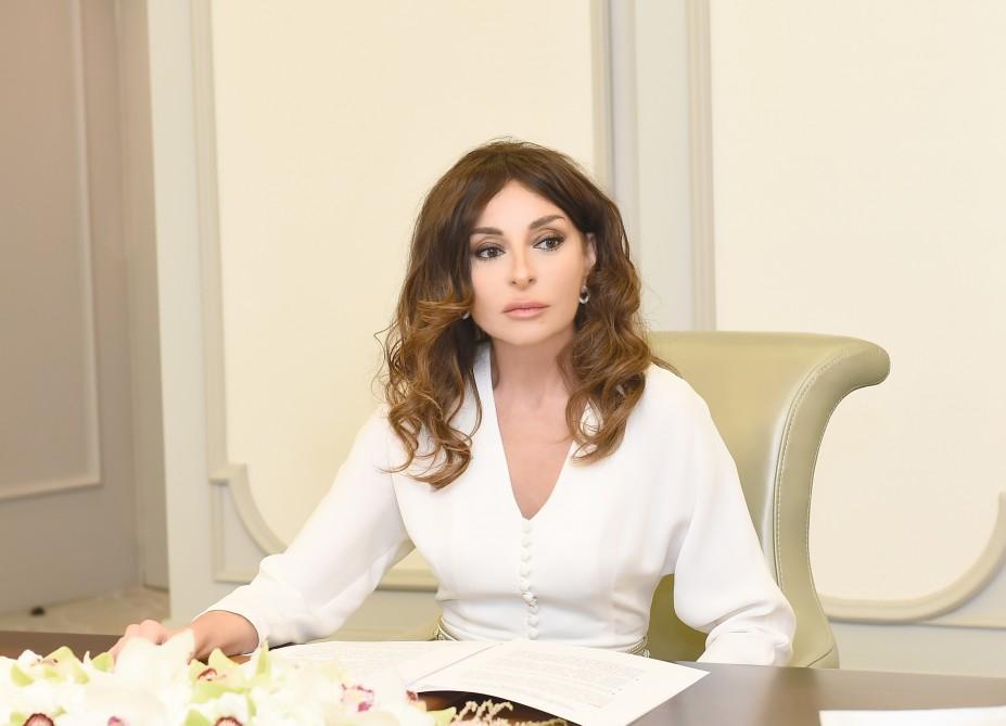 Azerbaijani First VP Mehriban Aliyeva shares post on April battles