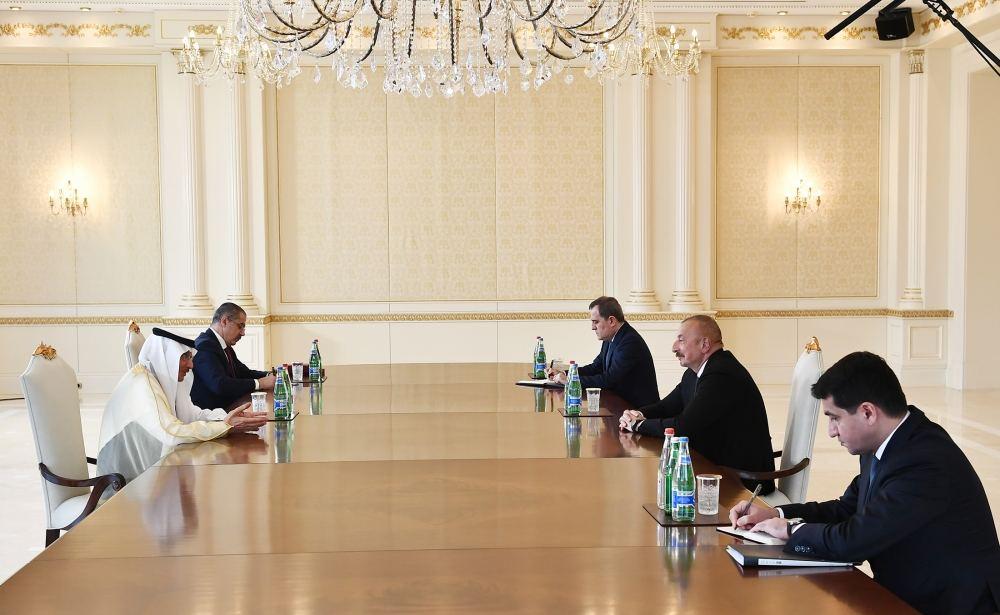 Azerbaijani President Receives OIC Secretary-General