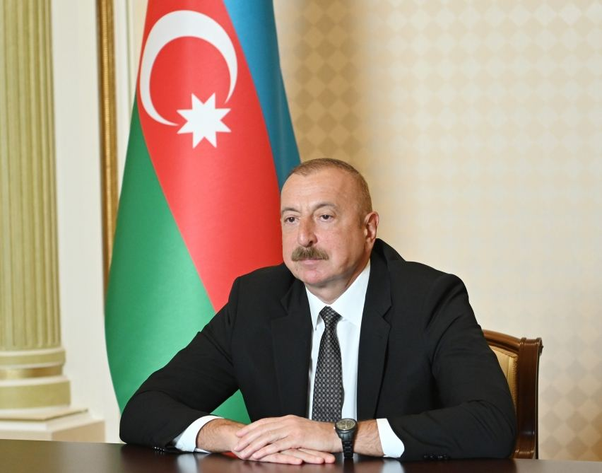 President Ilham Aliyev talks potential of water resources in country's liberated lands