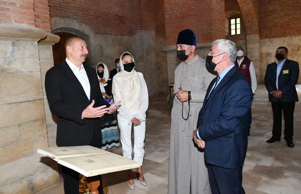 Ilham Aliyev: Udi people have great historical heritage