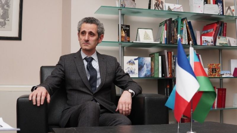 French Ambassador to Baku condolences over the death of two journalists