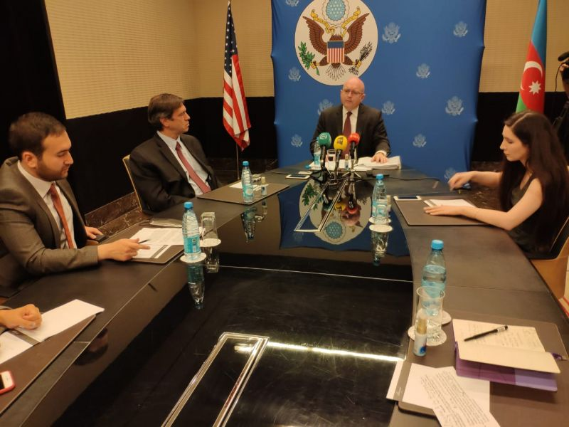 Reeker: The issues of the demarcation of troops, as well as energy and security were discussed