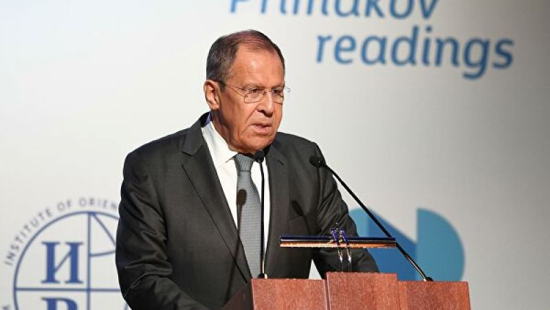 Sergei Lavrov: The status of Karabakh has to be resolved after the restoration of peace in the region