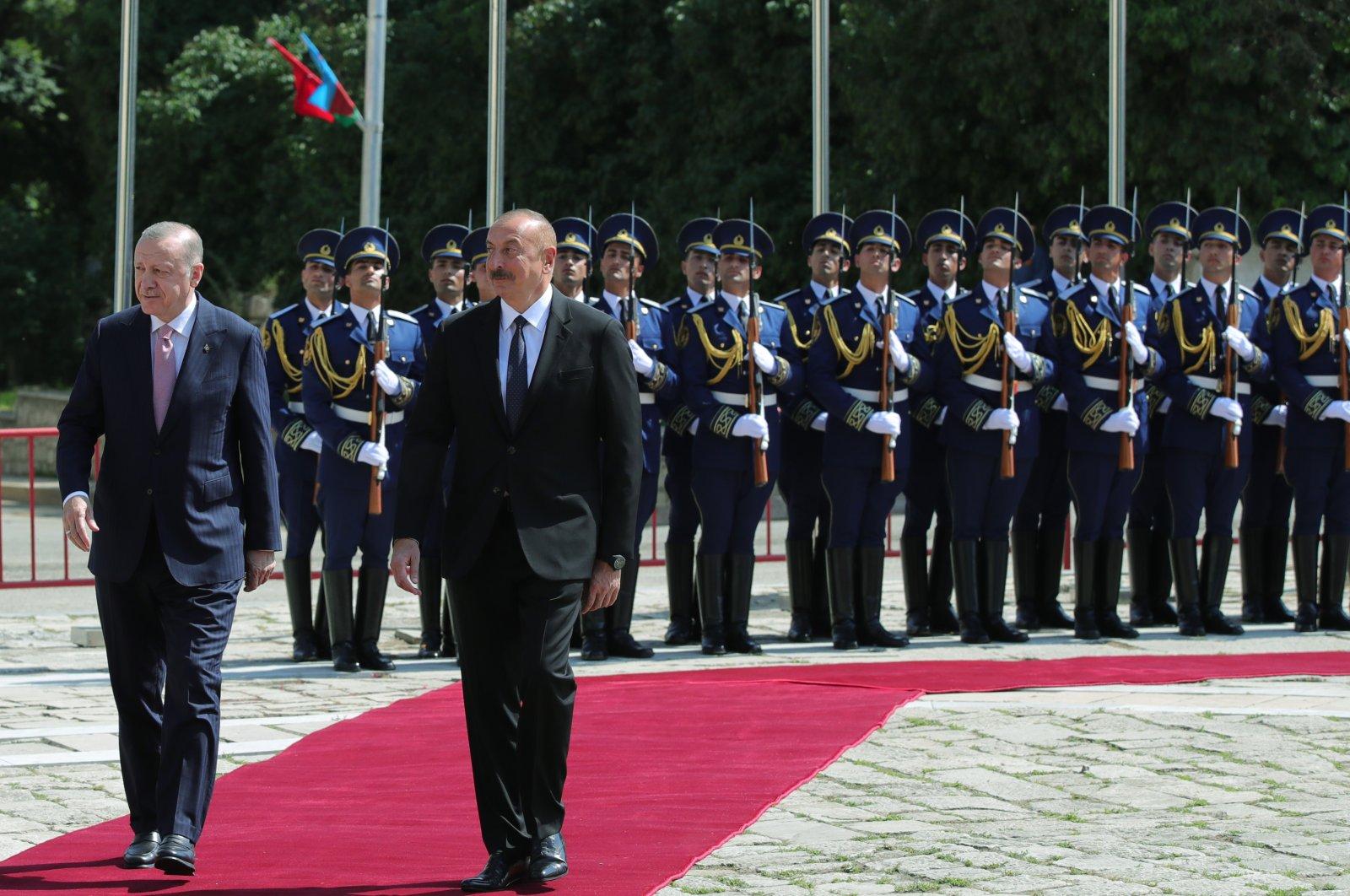 Erdoğan visits Azerbaijan's liberated Shusha
