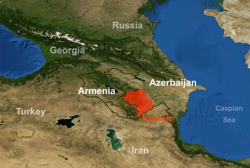 Civilian casualties surge in Karabakh, the most mined region in the world