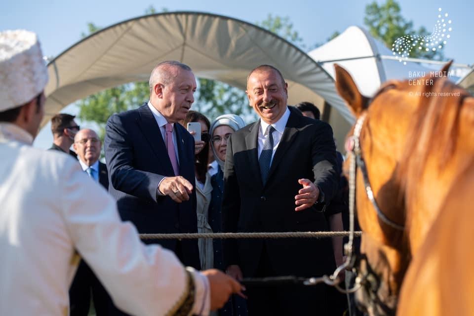 Program of the Turkish President's stay in Shusha