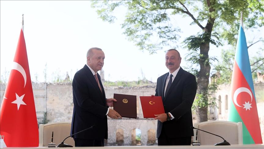 Shusha Declaration sets out new horizons in Turkey-Azerbaijan relations