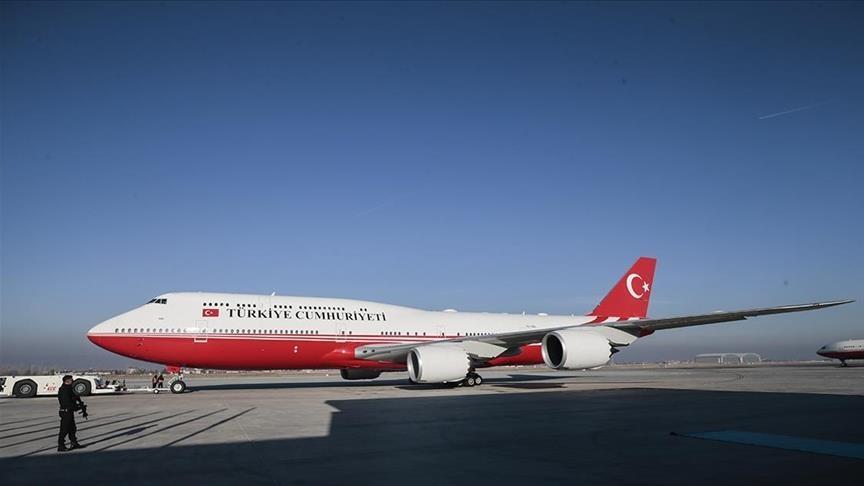 Turkish president arrives in Azerbaijan's capital