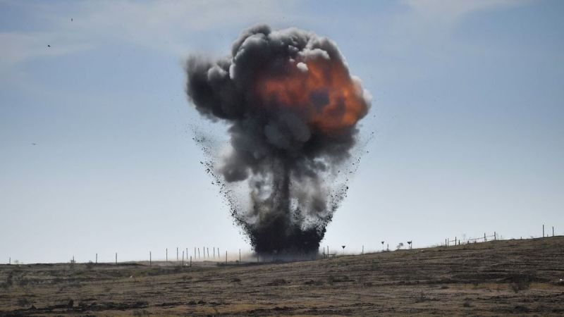 Two civilians were blown up by a mine in the Khojaly region