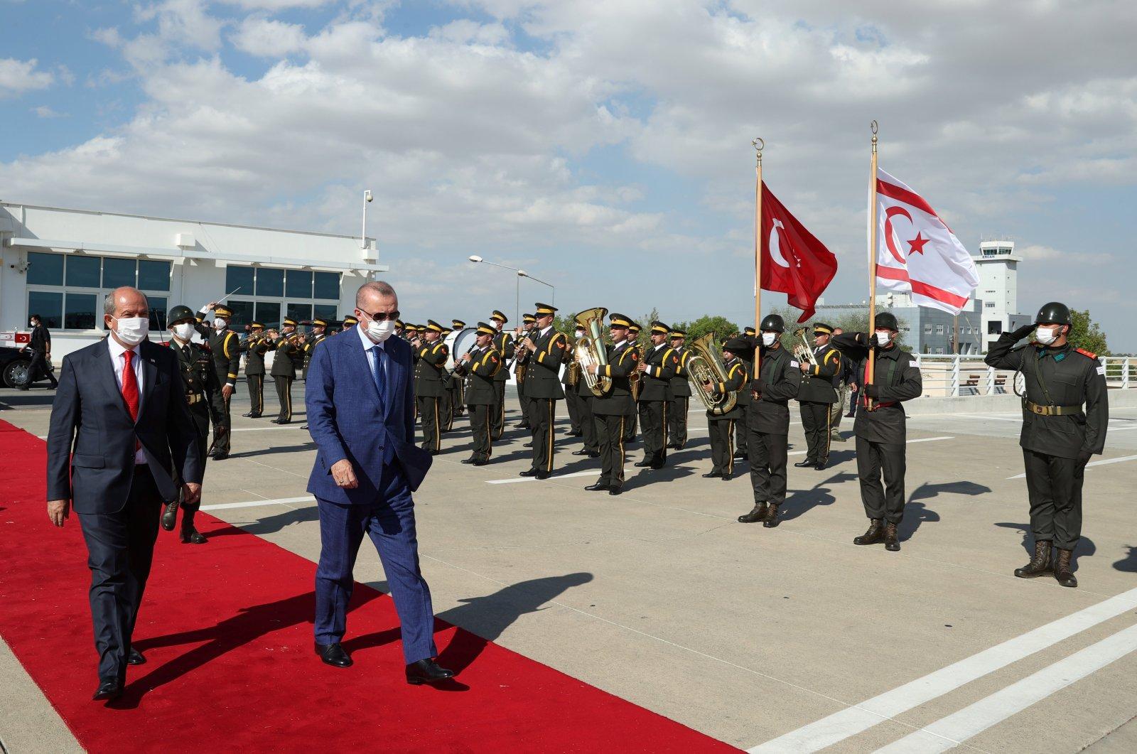 Cyprus talks must be held between two states alone: Erdoğan