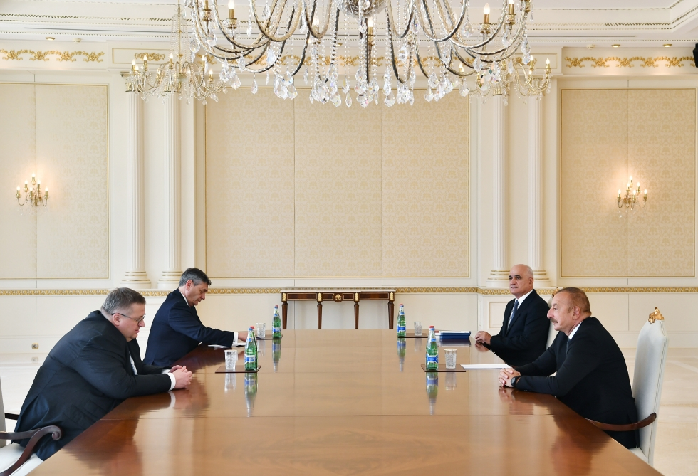 President Ilham Aliyev received Deputy Prime Minister of Russian Federation