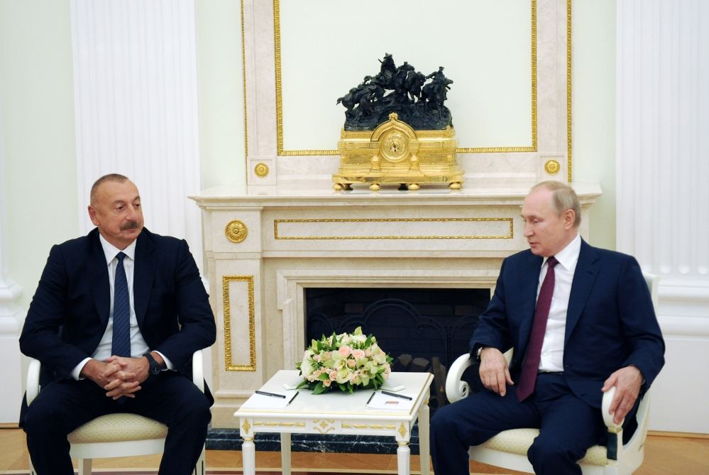 Working visit of President Ilham Aliyev to Russia ends