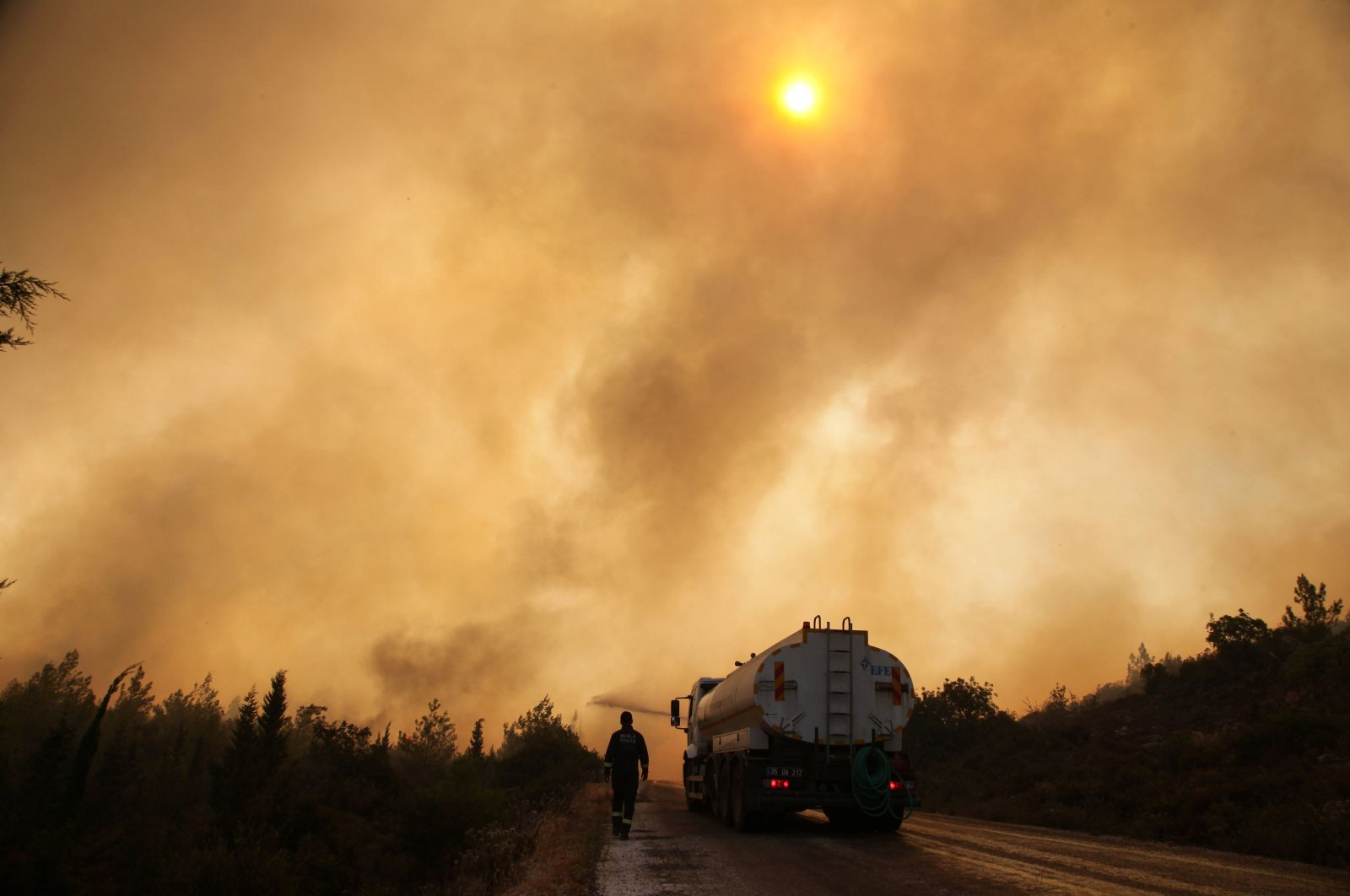 Almost a week on, Turkey strives to put out wildfires