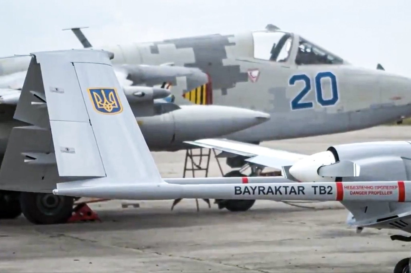 Ukraine to buy 24 more Turkish Bayraktar TB2 UCAVs