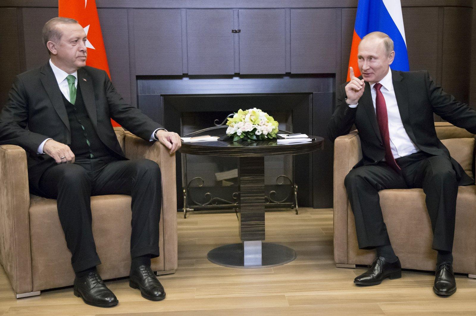 Erdoğan, Putin expected to meet in Sochi to discuss Syria