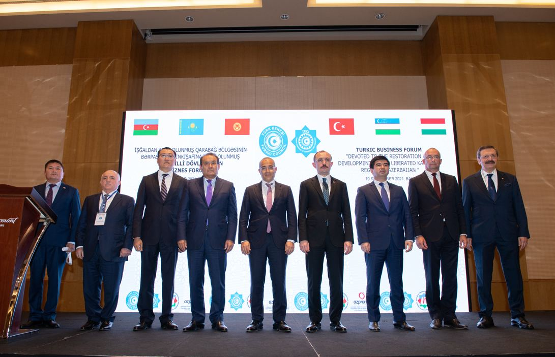 Azerbaijan held business forum dedicated to restoration of Karabakh