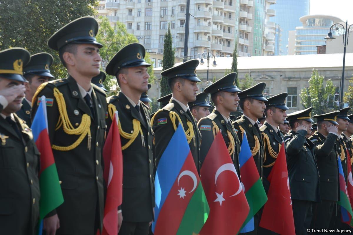 Celebrating the 103-rd anniversary of Baku's liberation from the Bolshevik-Dashnak occupation
