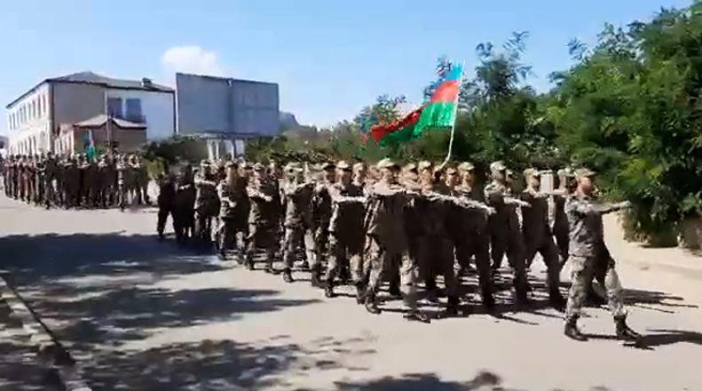 Azerbaijan holds military march in Shusha to mark the anniversary of the liberation of Baku