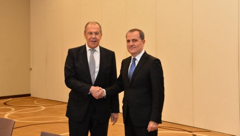 Foreign Ministers of Azerbaijan and Russia discussed in Minsk