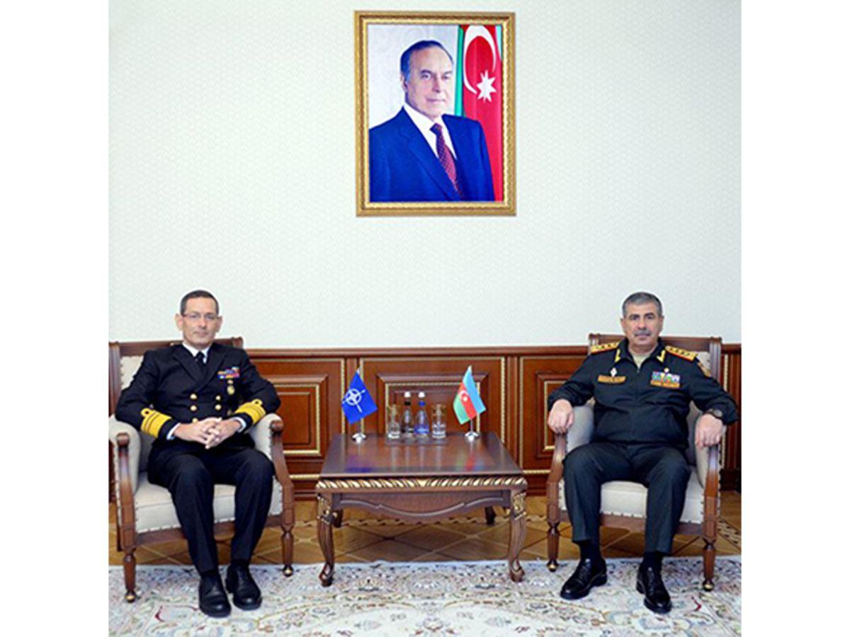 Azerbaijani MoD discusses extension of cooperation with NATO representative