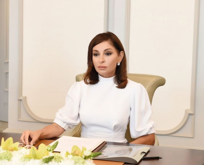 Chronicles of Victory: First VP Mehriban Aliyeva called upon international community not to remain indifferent on October 11, 2020